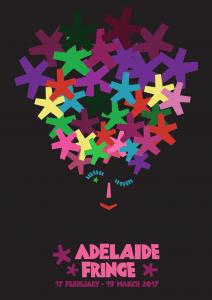 Adelaide Fringe Festival 2017 Loretta Faulkner Poster Competition top thirty