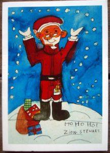 Christmas Card Designs Zion Levy Byron Bay Graphic Designs Loretta Faulkner