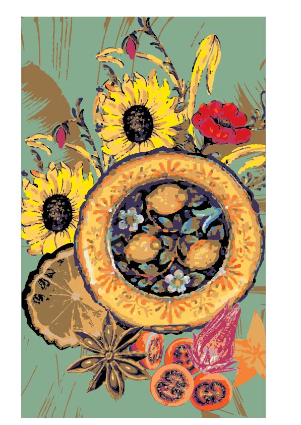 Taste Tweed Food Festival Branding Loretta Faulkner Byron Bay Graphic Designs
